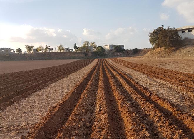 Preparação do solo Trimble